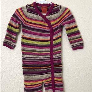 Missoni Infant Girls Sleeper Size (S) 6-12M